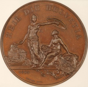 11890 Swiss Shooting Medal
