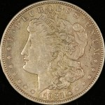 image of 1921 Morgan dollar obverse