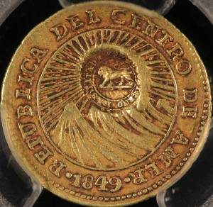 image of Costa Rican gold coin