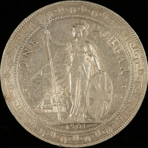 image of 1901 British Trade Dollar