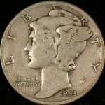 image of 90% mercury dime