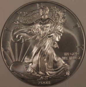 2008-W Silver Eagle NGC MS70 Early Release