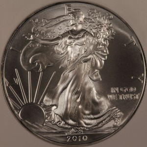 2010 Silver Eagle NGC MS70 Early Release