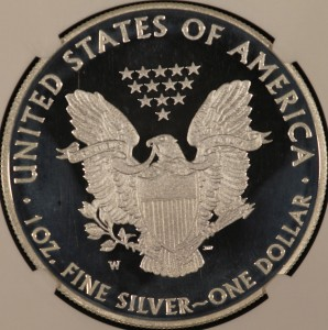 2010 Silver Eagle NGC PF70 Ultra Cameo Early Release