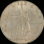 Counterfeit Ellis Island Silver Dollar