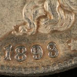 Counterfeit Morgan Silver Dollar(1893-O)