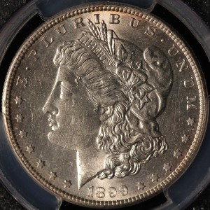 1889-S Morgan Dollar PCGS AU58