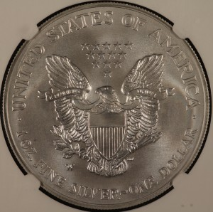 2008-W ASE Reverse of 2007 NGC MS70