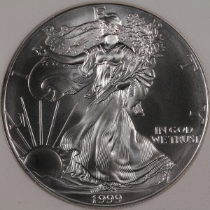 1999 Silver Eagle NGC MS69 First Strike