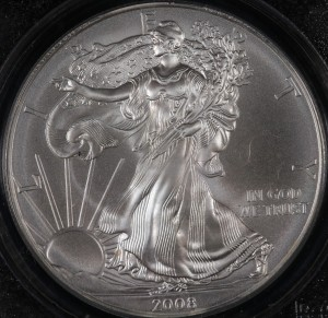 2008 First Strike S$1 PCGS MS69