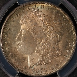 1878-S Morgan Silver Dollar MS-64 PCGS