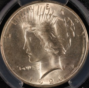 1926-D Peace Silver Dollar MS-64 PCGS