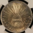 1843 Pi AM 8 Reale Flat Top 3 NGC MS62