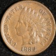 1882 Indian Cent. Extra Fine. Obv