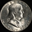 1952-D Franklin Half Dollar. Choice Brilliant Uncirculated. Obv
