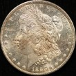 1885-O Morgan Silver Dollar. Proof Like 64. Obv