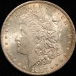 1897 Morgan Silver Dollar. MS-64. Obv