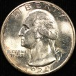 1939-D Washington Quarter. MS-63+. Obv