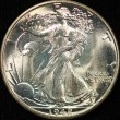 1942 Waling Liberty Half Dollar. MS 64. Obv