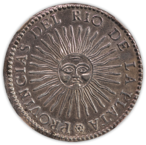 1831/0 Argentina 8 Reales